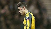 ++ Fußball, Transfers, Gerüchte ++: Arsenal schrammt an Pokalblamage vorbei