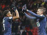 Monaco verliert Drei-Tore-Führung: Zwei Draxler-Tore bei Pariser Pokalspielsieg