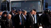 Lkw-Anschlag in Jerusalem: Netanjahu: Attentäter war wohl IS-Anhänger