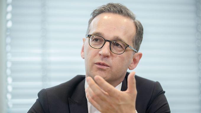 Justizminister Heiko Maas.