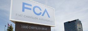 Das Hauptquartier von Fiat Chrysler im US-Bundesstaat Michigan: Hier sollen viele der neuen Jobs entstehen.