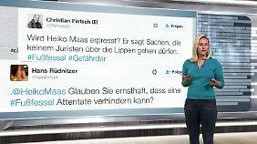 n-tv Netzreporterin: Das denkt das Netz über Fußfesseln für Gefährder
