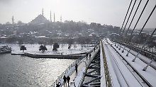 Kältewelle von Polen bis zur Türkei: 38 Menschen erfrieren in Europa