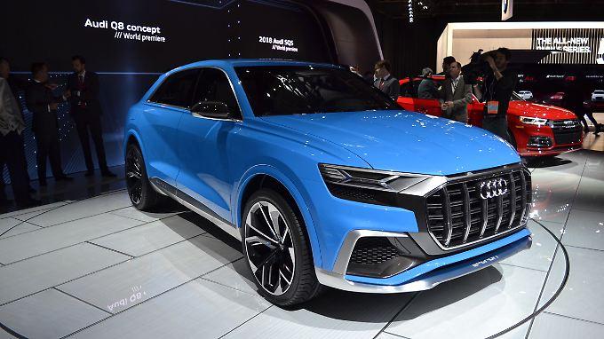 Mit dem Q8 will sich Audi vom Design-Einerlei verabschieden.