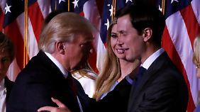 Trotz Gesetz gegen Vetternwirtschaft: Trump ernennt Schwiegersohn zum Spitzenberater im Weißen Haus