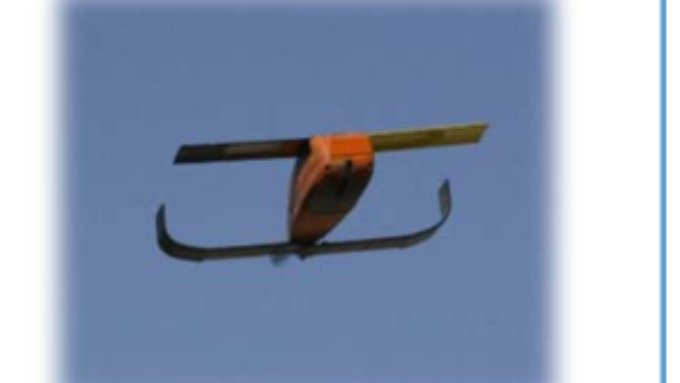 Die Drohnen werden in der Luft aus Flugzeugen herausgelassen.