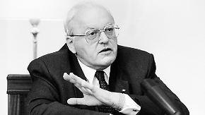 Nachruf: Altbundespräsident Roman Herzog stirbt mit 82 Jahren