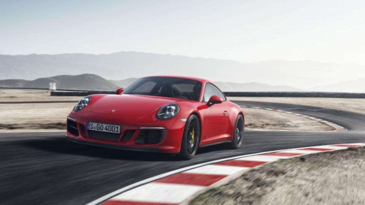 Porsche 911 GTS bekommt mehr Wumms
