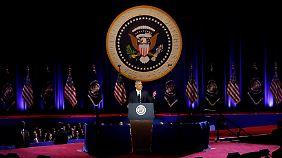 Große Bühne statt Oval Office: Barack Obama