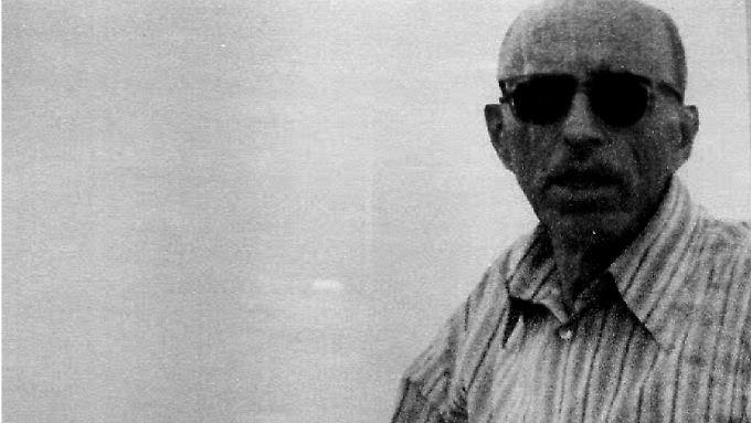 Die Aufnahme aus dem Jahr 1985 soll Alois Brunner in Damaskus zeigen.