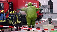 Verdächtiges Pulver in drei Städten: Feuerwehr räumt Gerichtsgebäude