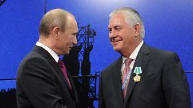 Die alte Geschäftsfreundschaft zählt für Tillerson in seinem neuen Amt nicht mehr.