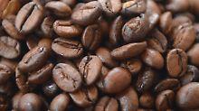 Auch der Kaffeepreis sinkt.