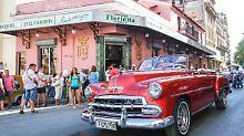 Tourismus auf Kuba boomt: US-Amerikaner lieben Havannas Oldtimer