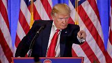 """""""Hysterische Feindseligkeit"""": Trump schreckt US-Geheimdienste auf"""