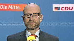 """Tauber zum Steuerüberschuss: """"Schäubles Vorschlag zur Schuldentilgung ist richtig"""""""