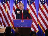 Als Präsident könnte Donald Trump womöglich vom ersten Tag an gegen die US-Verfassung verstoßen.