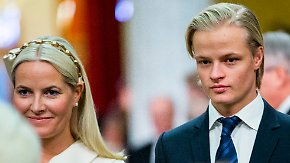 Promi-News des Tages: Ältester Sohn von Mette-Marit verlässt Norwegen