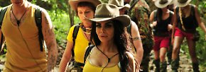 """Auf dem Weg ins Camp hat die ungekrönte Trash-Königin sich aber wieder beruhigt. Auch dieses Jahr werden die Frischlinge in zwei Teams aufgeteilt. Das Team mit den senfgelben Hemden ist das Team """"Snake Rock"""", …"""