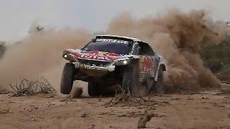 """Konkurrenten """"eigentlich nur Statisten"""": Peterhansel auf Titelkurs bei der Rallye Dakar"""