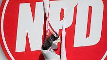Schwere Niederlage für Bundesrat: Minister wollen NPD-Geldhahn zudrehen