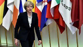 """""""Brexit heißt Brexit"""": May plant offenbar """"sauberen Schnitt"""" mit der EU"""