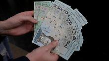 100er-Schein bald wertlos: Venezolaner bekommen neue Geldscheine