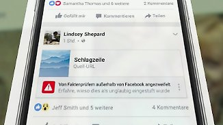 """Unterstützung von """"Correctiv"""": Facebook kennzeichnet künftig Fake News"""