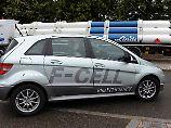 Initiative in Davos: Konzerne: Brennstoffzelle muss ins Auto