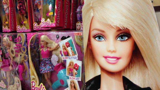 Kassenschlager Barbie: Mattel erwirtschaftete zuletzt einen Jahresumsatz von 6,7 Milliarden Dollar.