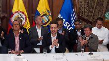 Gespräche mit Guerilla ab Februar: Kolumbien und ELN reden über Frieden