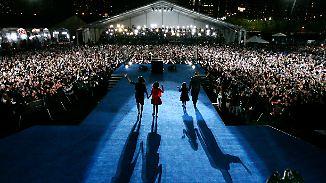 Coole Präsidentenfamilie: Wie die Obamas die Herzen der Amerikaner eroberten