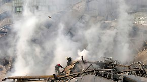 Brandkatastrophe in Teheran: Hochhaus bricht über Dutzenden Feuerwehrleuten zusammen