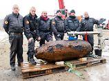 Kampfmittelräumdienst im Einsatz: Fliegerbomben in Hamburg entschärft
