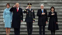 """Amtseinführung des 45. US-Präsidenten: """"Trump trat bisher als Prahlhans auf"""""""