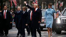 Liveticker zu Trumps Inauguration: +++ 23:37 n-tv.de beendet den Liveticker +++