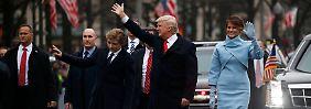 Der ganze Tag, Schritt für Schritt: +++ Liveticker zu Trumps Inauguration +++