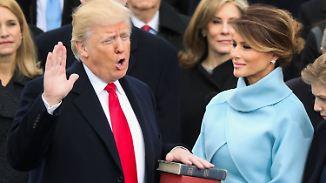 """""""America First"""": Trump wird als 45. Präsident der USA vereidigt"""