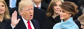 Machtwechsel mit Kampfansage: Donald Trump ist der 45. Präsident der USA