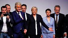 """Treffen mit Petry und Wilders: Le Pen beschwört """"Erwachen der Völker"""""""