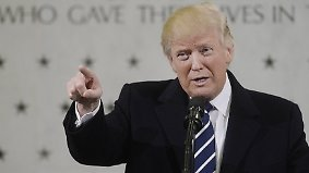 Liebeserklärung im CIA-Hauptquartier: Trump umgarnt US-Geheimdienste