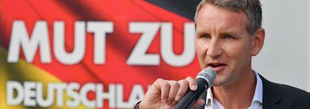 Geht selbst dem AfD-Vorstand zu weit: Björn Höcke