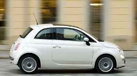 Hoffnungsträger: Fiat hat den 500 für den US-Markt umgebaut.