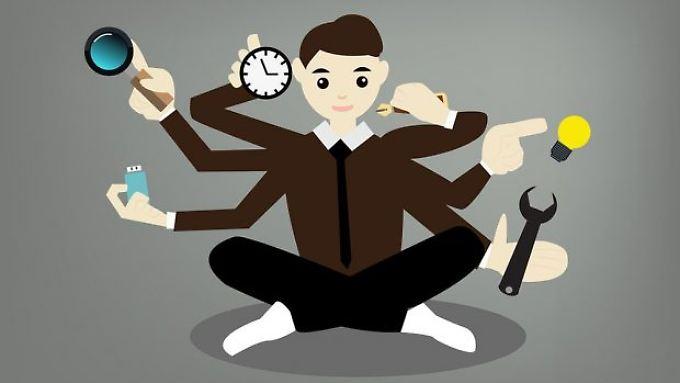 Mit zunehmendem Alter fällt das Multitasking schwerer.
