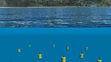 Wie verteilt sich Ölverschmutzung?: Roboterschwarm vermisst Meeresströmung