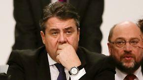 Paukenschlag bei der SPD: Gabriel verzichtet auf Kanzlerkandidatur