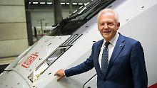 Bis 2020 Bahnchef: Grube bekommt drei weitere Jahre
