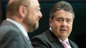 """""""Schulz hat eindeutig bessere Chancen"""": Gabriel verzichtet auf SPD-Vorsitz und Kanzlerkandidatur"""