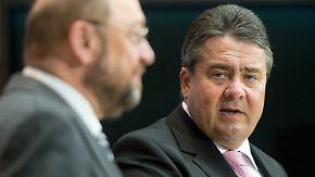 """""""Schulz hat bessere Chancen"""": Gabriel verzichtet auf SPD-Vorsitz und Kanzlerkandidatur"""