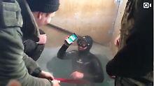 Angel-Unfall in Sibirien: iPhone 7 überlebt 13 Stunden im Eiswasser